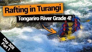 Video blog - Grade 4 White Water Rafting in Turangi - Day 308, Part 1