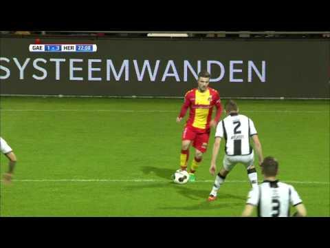 Go Ahead Eagles - Heracles Almelo 1-4 | 08-04-2017 | Samenvatting