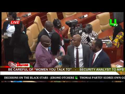 Be careful of 'women you talk to' – Security analyst to MPs