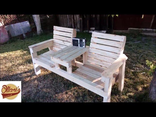 Tutos pour fabriquer des meubles extérieurs en palette
