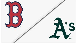 Boston Red Sox vs Oakland Athletics | Full Game Highlights | 4/22/18