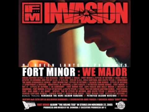Fort Minor - There They Go (DJ Green Lantern Mix)