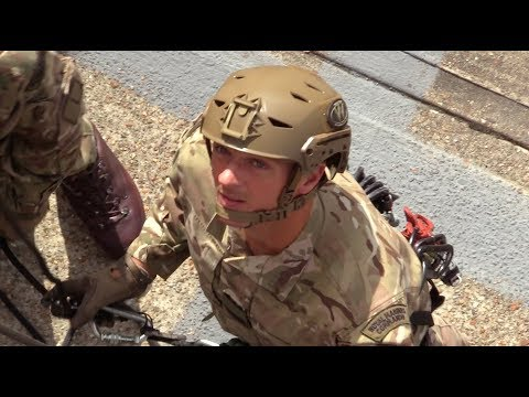 Royal Marine Commandos; bringing climbing skills into the city