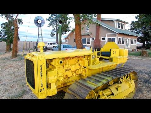 Dads Restored 1938 Caterpillar D4 Tractor