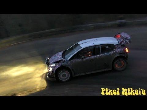 Essais pré Rallye Monte Carlo 2017 C3 WRC Meeke
