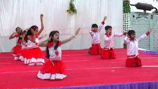 Bum Bum bole Masti me dole Dance Annual Function 2019 Bansidhar Vidhyalay Jamnagar