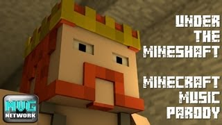 "♪ ""Under the Mineshaft"" - A Minecraft Parody of Red Hot Chilli Pepper"