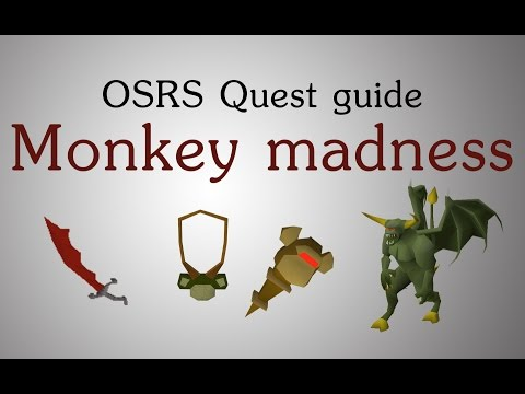 [OSRS] Monkey madness quest guide