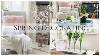 SPRING DECORATE WITH ME 2019 | DOLLAR TREE SPRING DECOR IDEAS | DECOR INSPIRATION