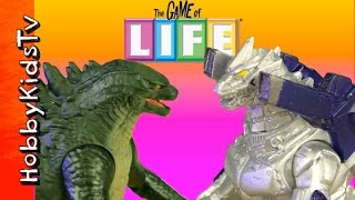 Godzilla vs Mechagodzilla in The Game of Life