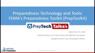 PrepTech Talk: Learn the Latest in Preparedness Technology & Tools