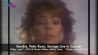 Sandra, Patty Ryan, Savage Greatest Hits Video Mix by DJ Alpha Italo Disco / New Wave Mix
