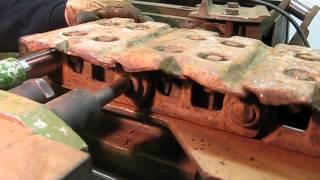 Pressing pins and bushings Step #1
