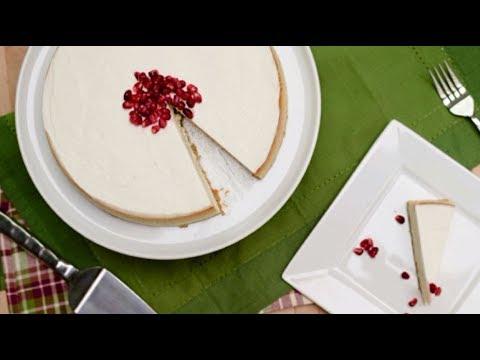 How To Make An Eggnog Cheesecake | Cheesecake Recipe