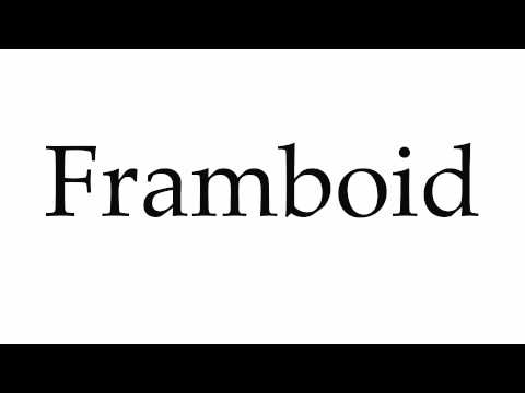 How to Pronounce Framboid