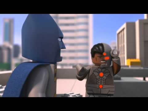 LEGO Batman Be-Leaguered TV Clip with CYBORG Blooper
