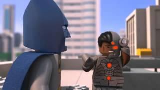 LEGO Batman Be-Leaguered TV Clip with CYBORG Blooper