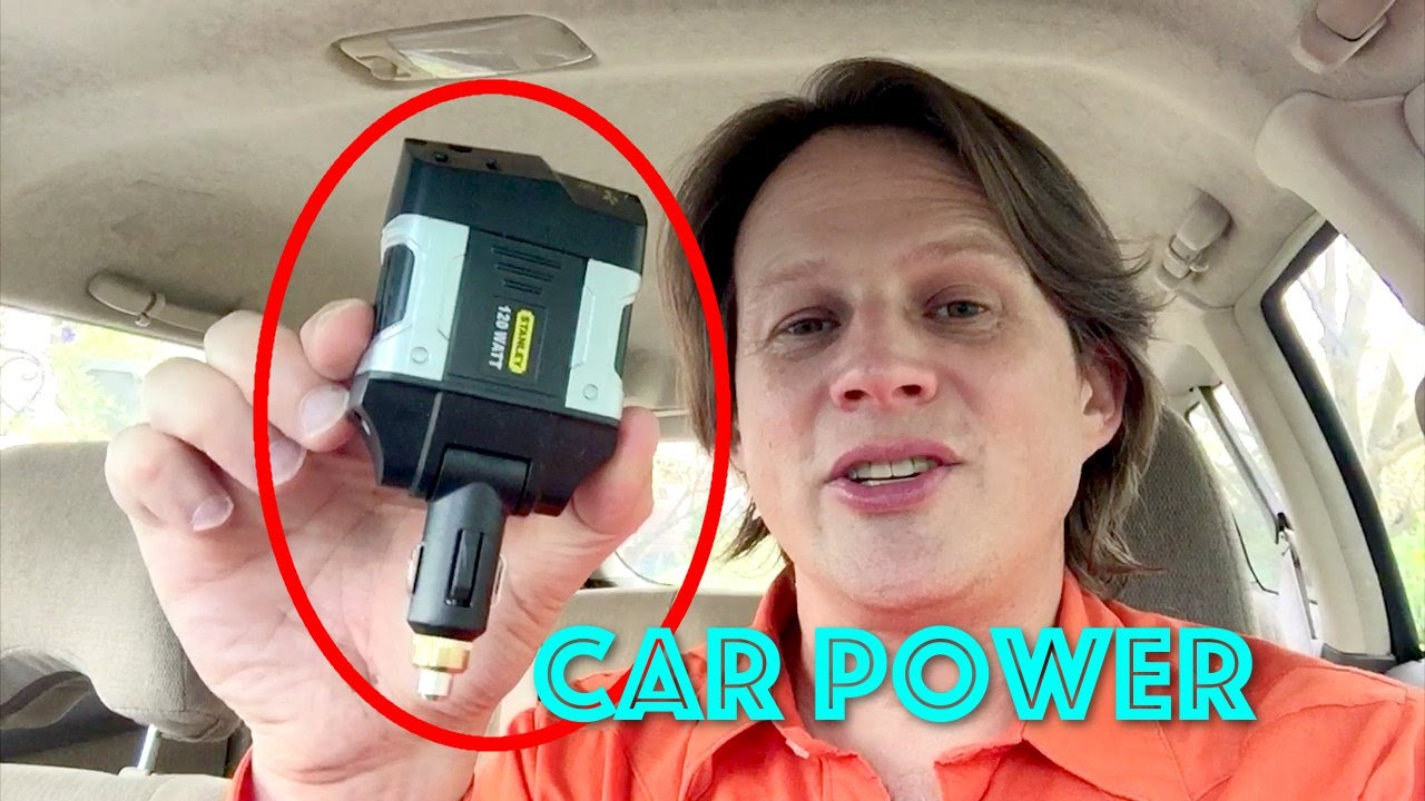 hook up power inverter your car