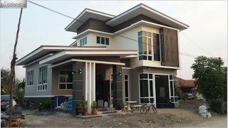 Gambar cover แบบบ้านโมเดิร์น Banpatan Moderate MD08 นนทบุรี