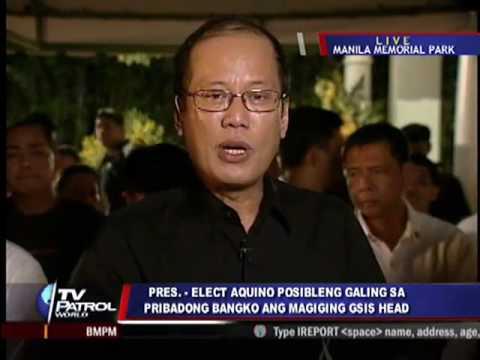 Q&A: Benigno Aquino III