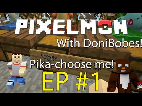 Minecraft | PIKACHU I CHOOSE YOU | Pixelmon Duo Episode 1