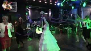 Свадьба Дмитрия и Виктории. Видео клип - Свадебный торт Букет Подвязка