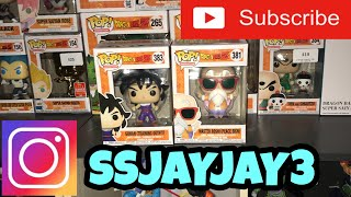 DRAGONBALL POP QUICK UPDATE NEW POPS!!!!