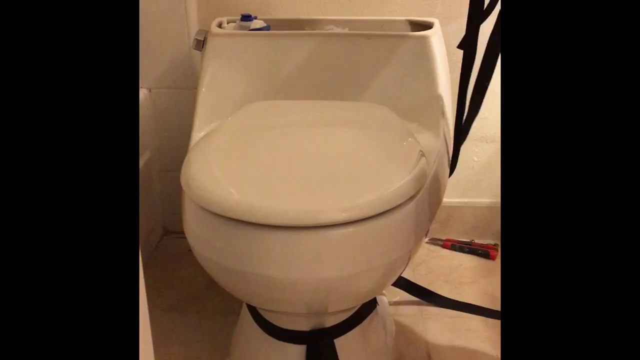 DIY - how to remove & install Toto Legato Toilet - part 1/2 in HD ...
