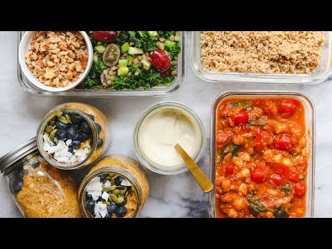 Easy Vegan Meal Prep in Under 1 Hour (Cozy & Healthy)