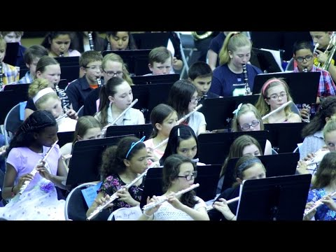 Mythos performed by Bethel's Combined Elementary Bands