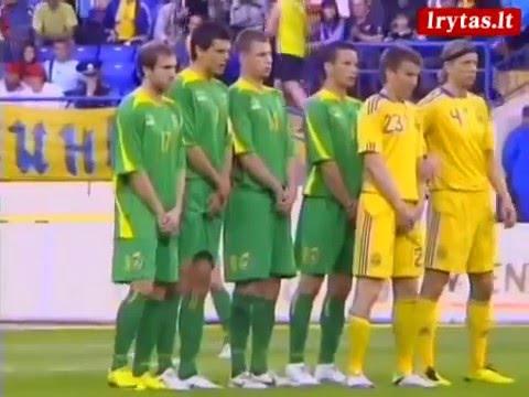 Ukraina - Lietuva 4:0 | Charkovas 2010 Gegužės 25d tik įvarčiai