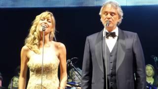 Andrea Bocelli KRAKÓW 30.08.2014 Canto Della Terra