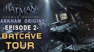 Batman: Arkham Origins - Walkthrough Part 2 The Batcave & GCR