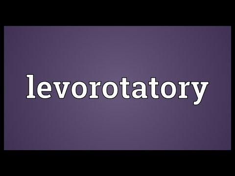 Header of levorotatory