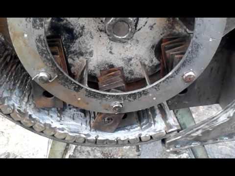 Зернодробилка своими руками молотковая
