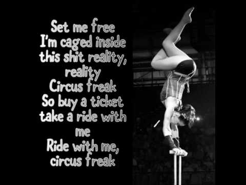 Myah - Circus Freak(Lyrics on screen)