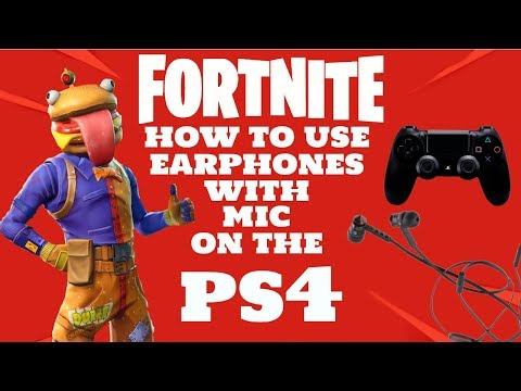How To Use Earphones On Fortnite (voice Chat) Working