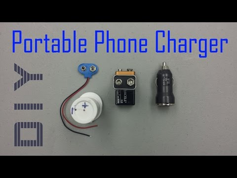 DIY: How to make a Portable Charger : 720p