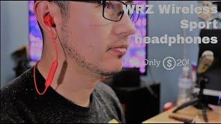 WRZ Bluetooth Sport Headphones $20 (Review)