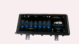 10 25 inch android bmw f10 f20 f48 f30 etc screen gps on our testing car