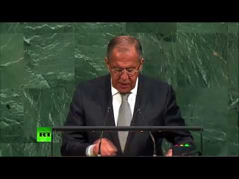 A l'ONU, Sergueï Lavrov accuse la coalition menée par Washington d'épargner le Front al-Nosra