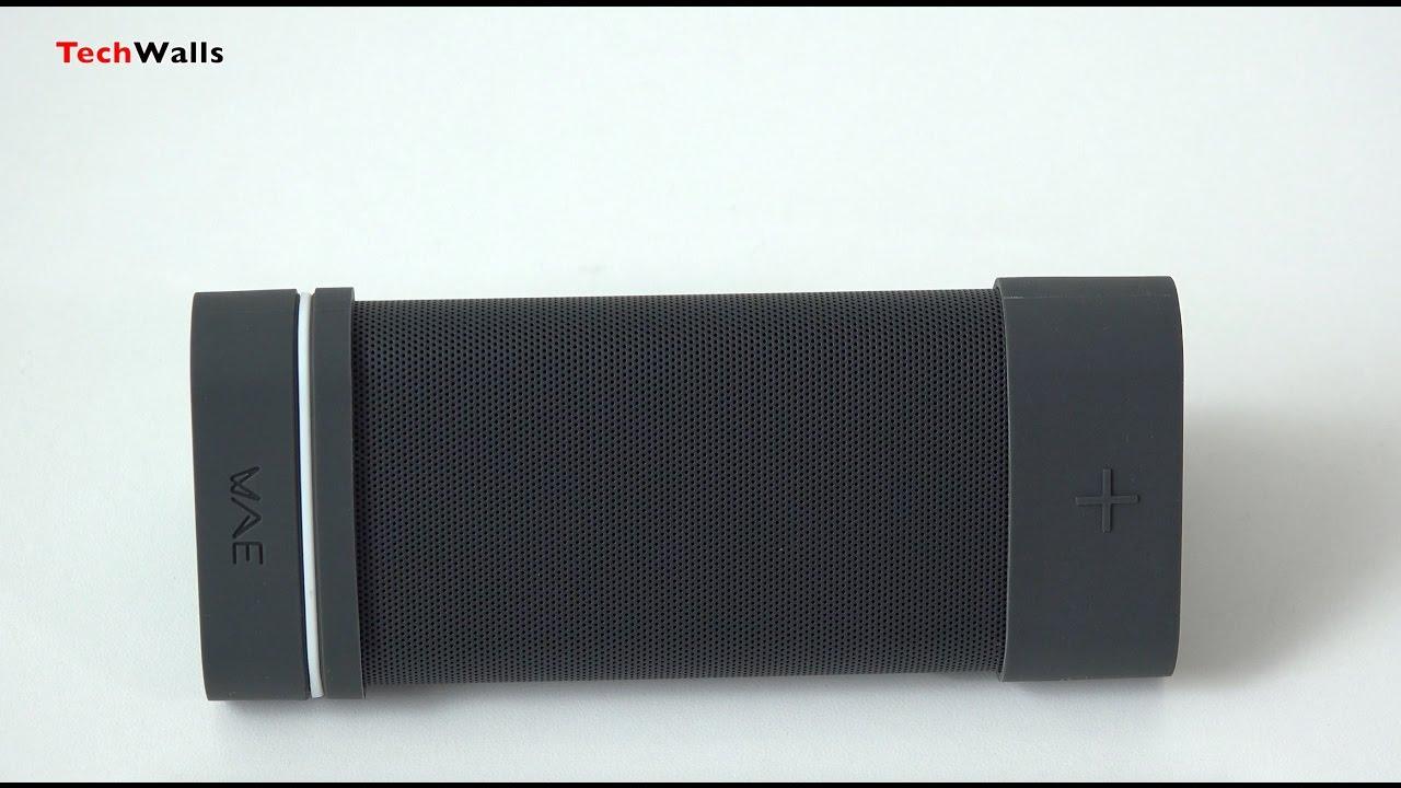 Hercules WAE Outdoor 04PLUS FM Bluetooth Speaker Black