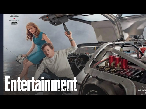 Back to the Future's Michael J. Fox & Lea Thompson Talk the DeLorean | Entertainment Weekly