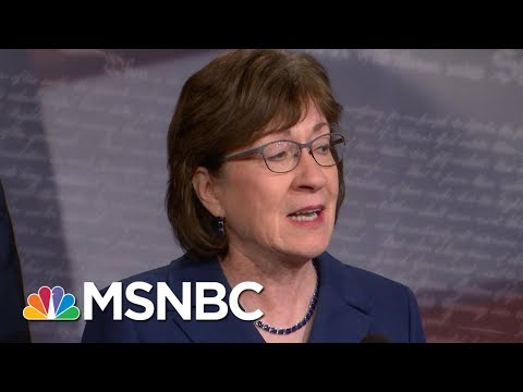 Senators From Both Parties Pass Budget To Reopen The Government | MSNBC