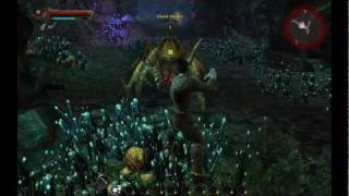 ★ Kingdoms of Amalur Reckoning Gameplay - First Look - Boss Fight - Character Creation - HD PC