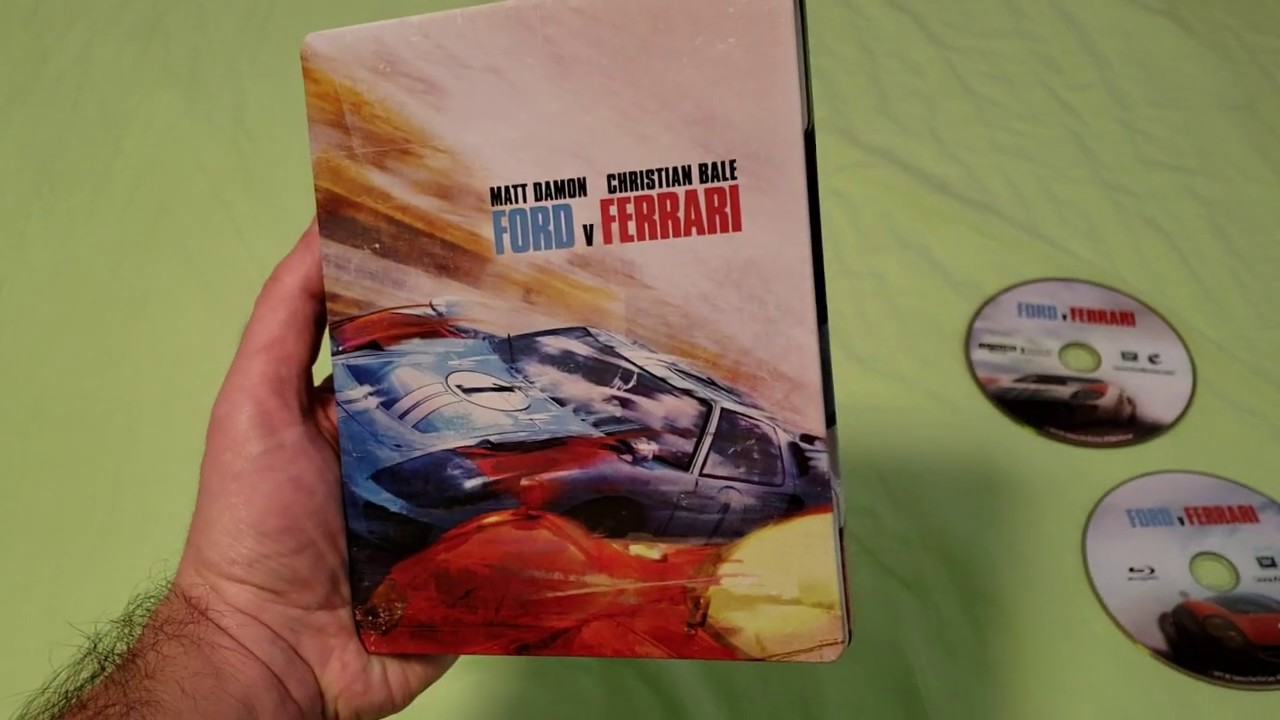 Up Close Of Ford V Ferrari 4k Steelbook Best Buy Exclusive Youtube