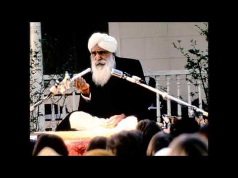 Who Says Words with My Mouth - Rumi - ft Sant Kirpal Singh
