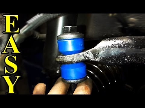 How to Replace Sway Bar Bushings and End Links