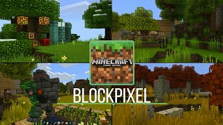 TEXTURA MUITO BONITA PARA MINECRAFT PE 1.6.0.8 - BlockPixel Resource Pack (Pocket Edition)