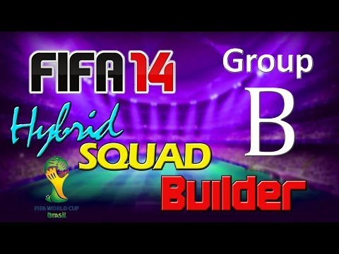FIFA 14 | World Cup 2014 Hybrid Squad | Group B | Chile, Netherlands, Spain & Australia